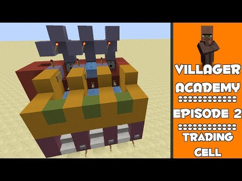 Villager Trading Cell / Bay - #2 - Villager Academy
