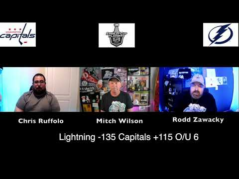 Tampa Bay Lightning vs Washington Capitals 8/3/20 NHL Pick and Prediction Stanley Cup Playoffs