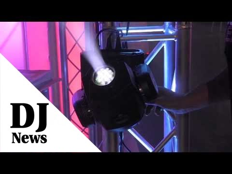ADJ Inno Spot LED Moving Head Fixture with Ask Alfred: By John Young the Disc Jockey News
