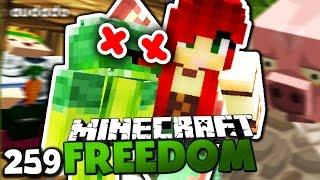 MEINE FRAU VERPRÜGELT BABY BROKKOLI! & DAS GERICHTSGEBÄUDE IST FERTIG! ✪ Minecraft FREEDOM #259