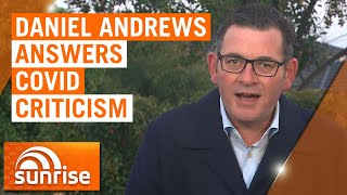Coronavirus: Victorian Premier Daniel Andrews answers COVID-19 criticism | 7NEWS
