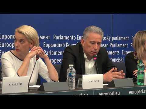 Κ Χρυσόγονος - Συνέντευξη Τύπου 6 Ευρωομάδαων - Μετεγκατάσταση Προσφύγων