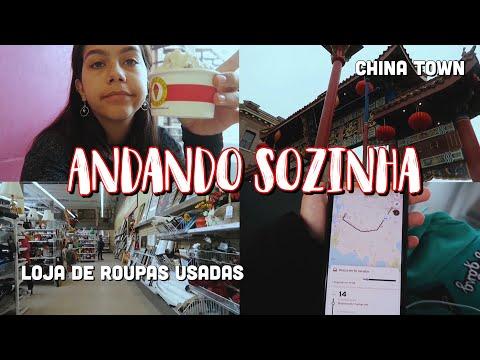 ANDANDO SOZINHA EM VICTORIA  INTERCÂMBIO - CANADÁ - VICTORIA BC