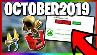 *OCTOBER 2019* ALL WORKING PROMOCODES IN ROBLOX!
