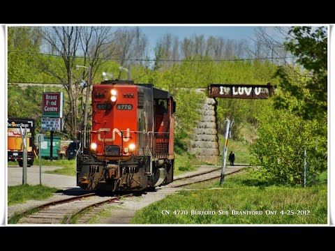 RAILREEL Best of CN 580 Street Running 12-28-2014
