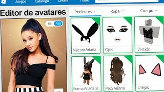 We created the PROFILE of BIG ARIANA in ROBLOX !! | Rovi23 Roblox