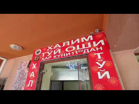 """Кафе """"DARXAN"""" в Ташкенте - рекламный ролик"""