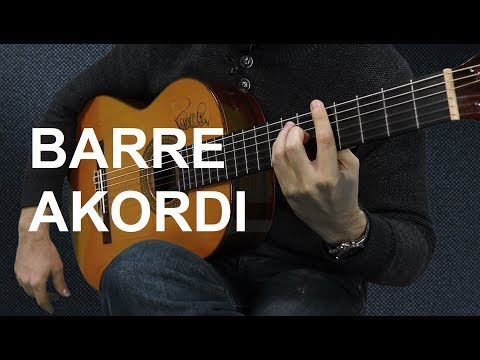 BARRE AKORDI NA GITARI - Tri osnovna barre akorda