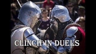 Работа в клинче.  Урок 21 Исторический Средневековый бой - Основы