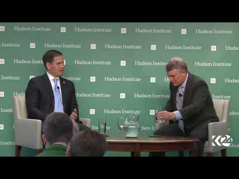 Sen. Marco Rubio at Hudson Institute