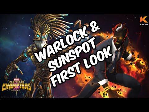 MCOC: v24.1 Update Teaser - Warlock & Sunspot Special Attack First look