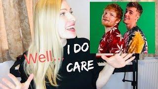 Baixar ED SHEERAN & JUSTIN BIEBER - I Don't Care [Musician's] Reaction & Review!