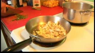 Prosciutto Rosemary Chicken Recipe : Vegetable Saute For Prosciutto Rosemary Chicken
