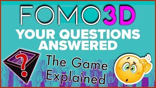 FOMO 3D - YOUR QUESTIONS ANSWERED! - The Exit Scam Game Explained... How Does F3D Benefit PoWH P3D?