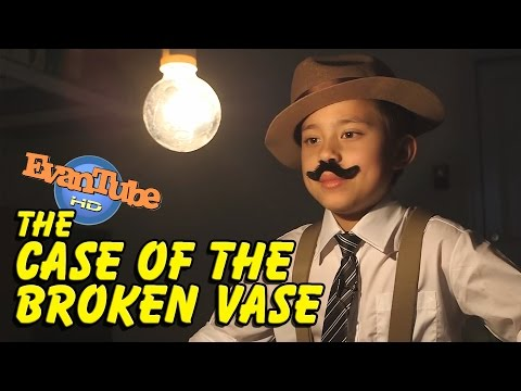Thumbnail: The CASE of the BROKEN VASE! An EvanTubeHD Detective Story