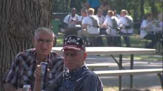 Buffalo Burger Cookout at Fort Sill - KSWO Reporter Scott Miller