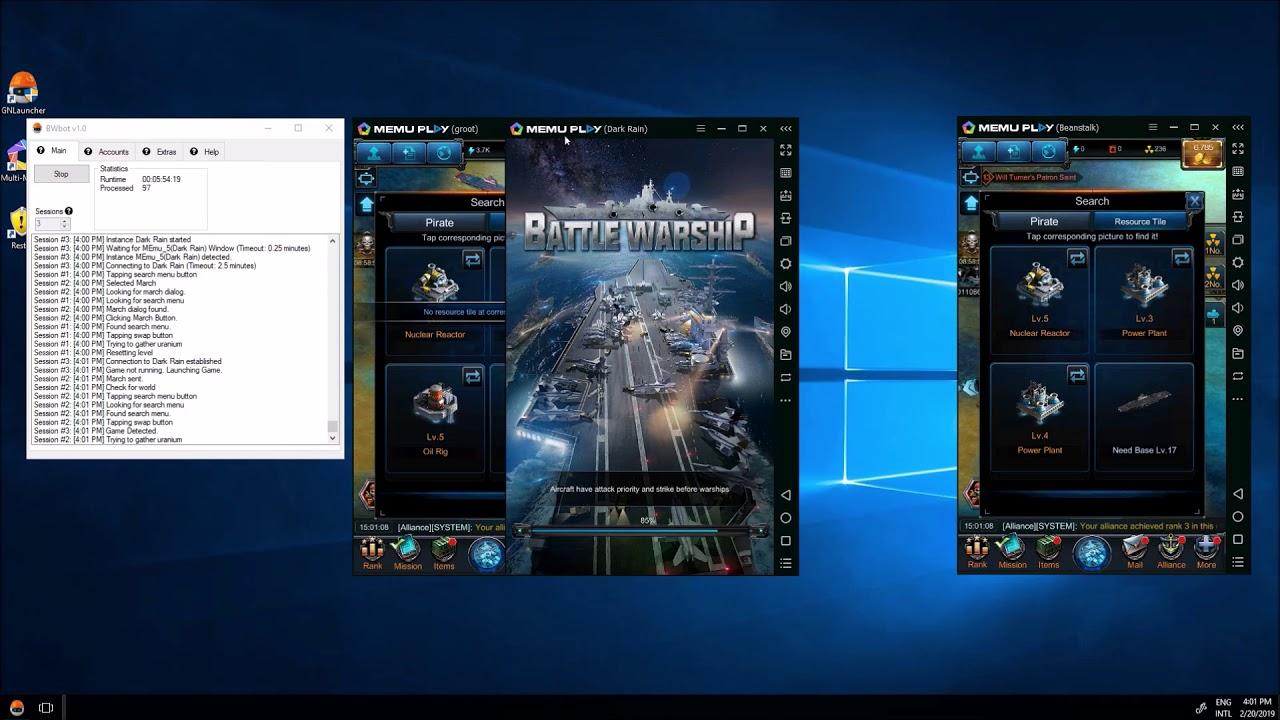 Battle Warship Bot   Naval Empire Auto Farm Tool