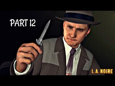 LA Noire Remastered Walkthrough Part 12 - THE STUDIO SECRETARY MURDER | PS4 Pro Gameplay
