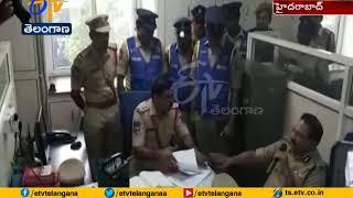 DGP Mahender Reddy   Sudden Inspects LB Nagar Police Station