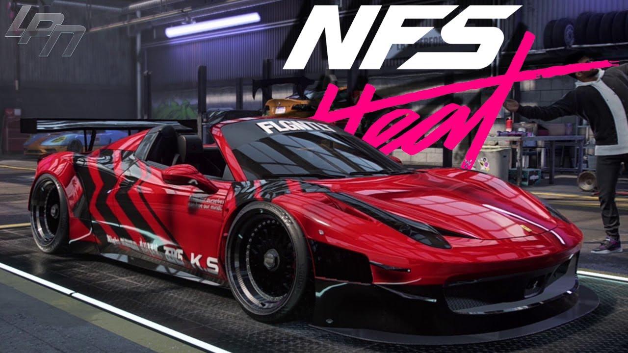 Ferrari 458 Spider Speedpaint Need For Speed Heat Youtube