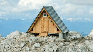 Tiny refuge in the Alps built in memory of young Italian mountaineer