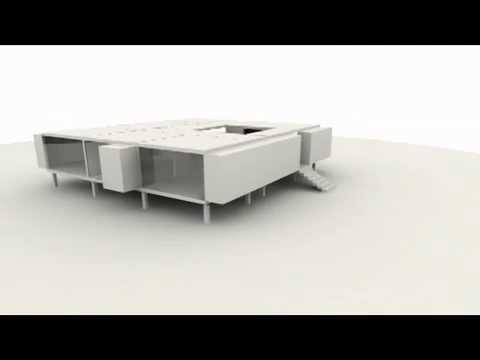 Prefabricated Modular Building System Digital Rendering