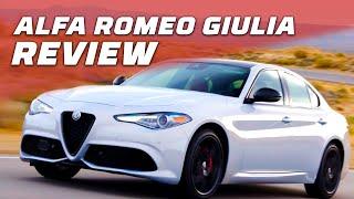 Gorgeous Interior, Great Car! 2020 Alfa Romeo Giulia Walkthrough | MotorTrend