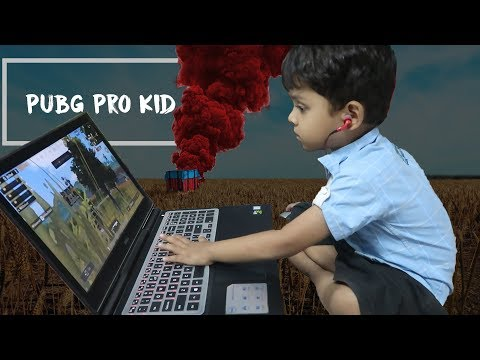 3 years old kid playing pubg on computer | Pubg Addicted