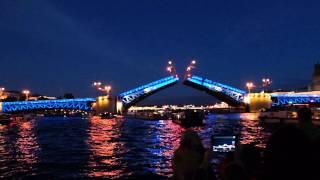 Санкт-Петербург. Развод мостов.