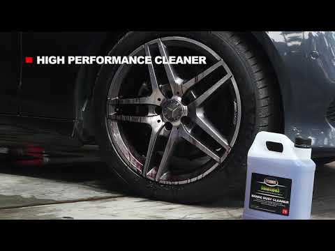 How to remove extreme brake dust form wheels effortlessly - OSREN