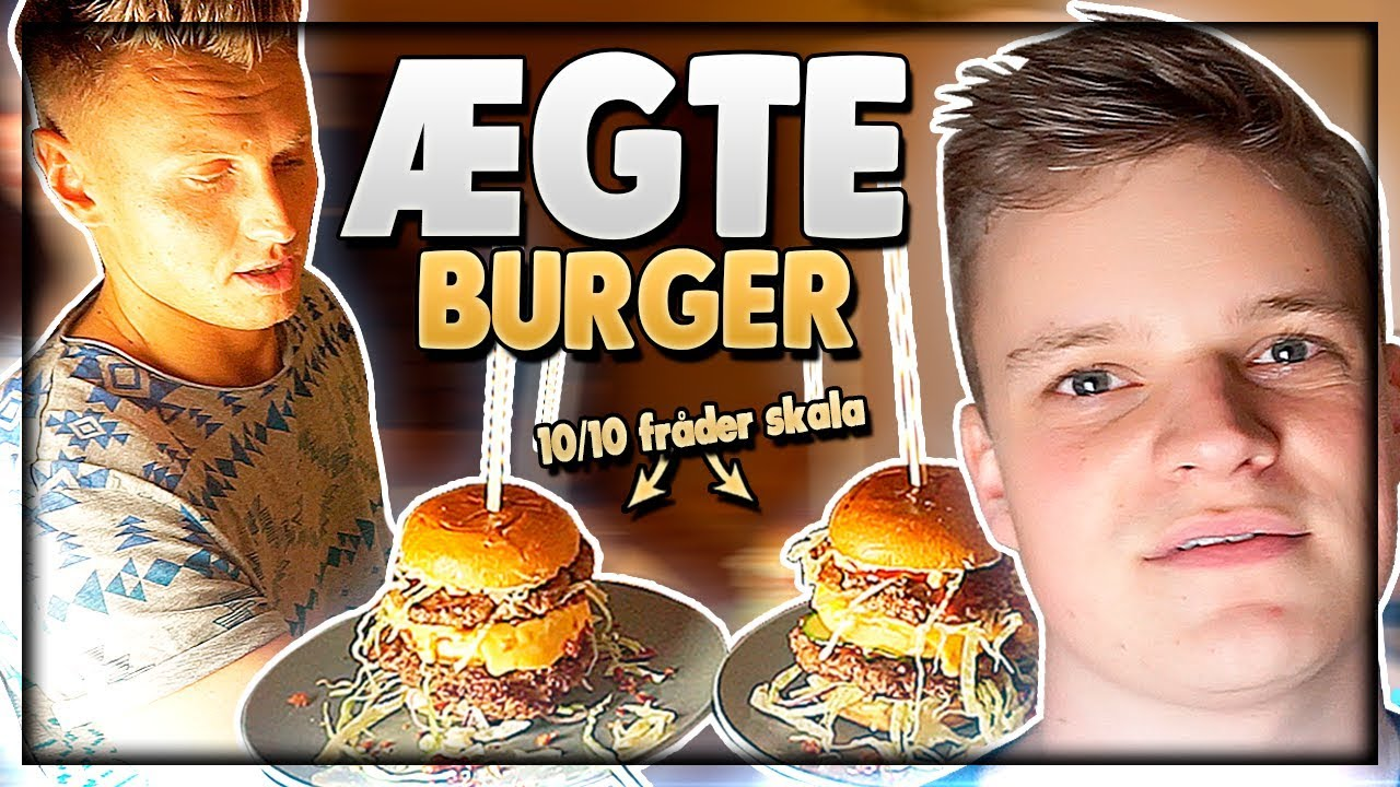 BEDSTE BURGER m. StupidAagaards