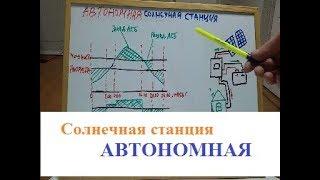 Солнечная станция для дома с аккумуляторами,автономная,принцип работы,энергомаг,+380 95 235 49 95(, 2018-02-12T14:58:09.000Z)