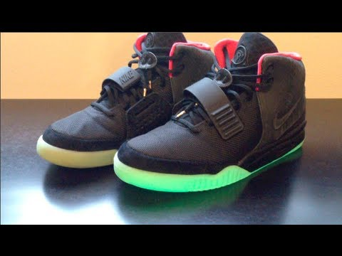 super popular 48a8b 590c3 Shoe pickup  Air Yeezy 2 Solar Red with on feet video - YouTube