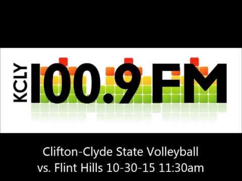 Clifton-Clyde State Volleyball vs. Flint Hills
