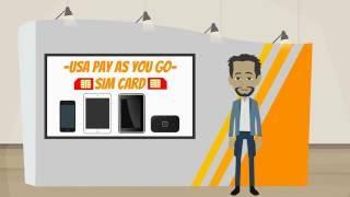 Free International Roaming - Pay As You Go SIM Card USA – AT&T Prepaid SIM Card