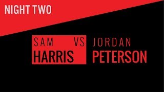 Sam Harris & Jordan Peterson in Vancouver 2018 (with Bret Weinstein moderating) — Second Night