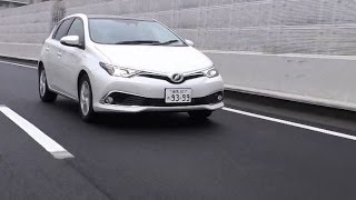 2015年4月にマイナーチェンジされたトヨタ・オーリスの「180S」グレード...