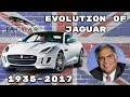 Evolution Of The Jaguar ( 1935 - 2017 )