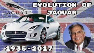 Evolution Of The Jaguar ( 1935 - 2017 )
