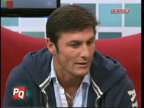 """Javier """"Pupi"""" Zanetti en Pura Quimica (02-07-2012)"""