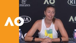 "Maria Sharapova: ""She definitely stepped up"" 