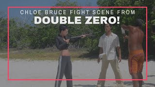 Chloe Bruce stars as action actor in Double Zero | Double Zero fight scene
