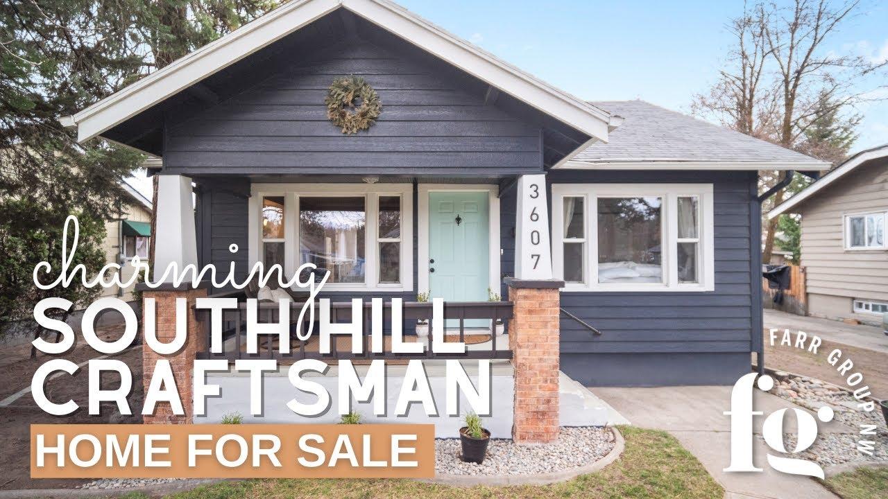 Charming Spokane Lower South Hill Craftsman