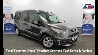 Ford Tourneo Grand Titanium Connect Test Drive & Review
