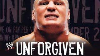 "Unforgiven 2002 Theme ""Adrenaline"" By Gavin Rossdale"