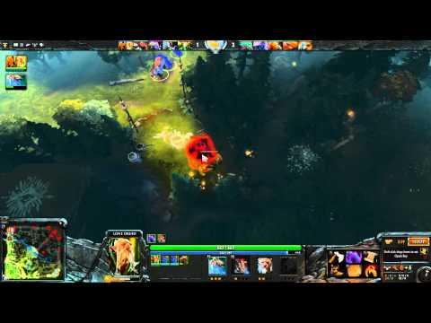видео: dota 2: Пексик играет за Друида (Силла, lone druid), бой 1 из 2 - win