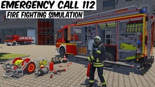 Emergency Call 112 – The Fire Fighting Simulation - First Level Gameplay PC HD