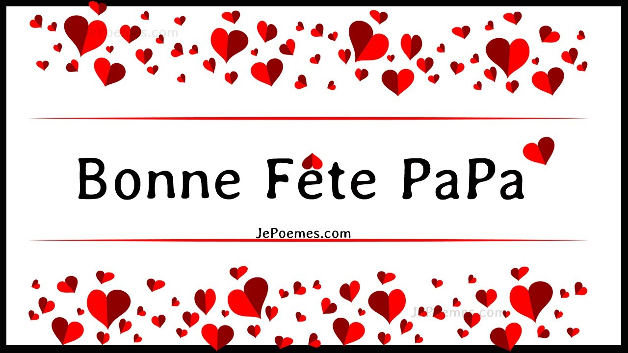 fete des peres bonne f te des p res papa youtube. Black Bedroom Furniture Sets. Home Design Ideas