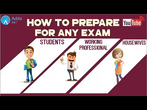 How To Prepare Any Exams For Students, Working Professional, , Housewives  | Online SSC CGL Coaching