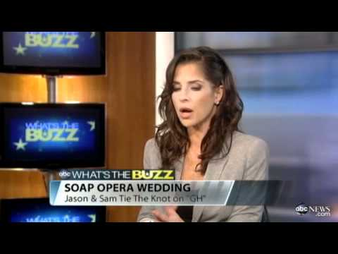 Kelly Monaco 9/21/11 Interview about Jasam Wedding